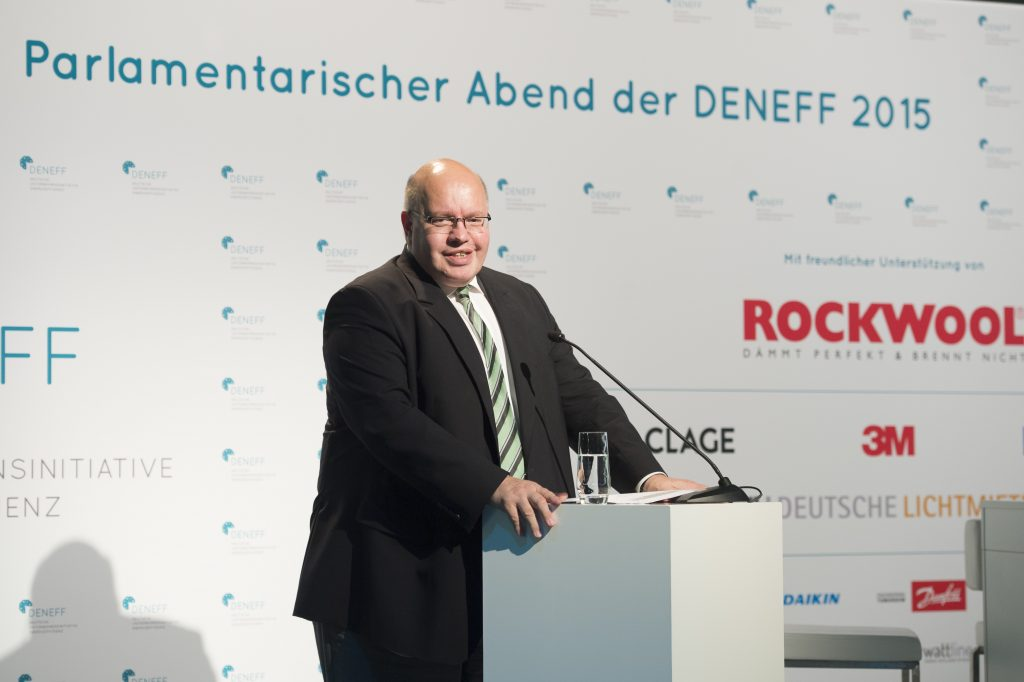 Parlamentarischer Abend 2016 mit Minister Peter Altmaier
